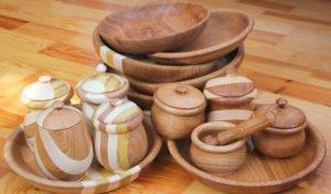 Деревянная посуда в подарок