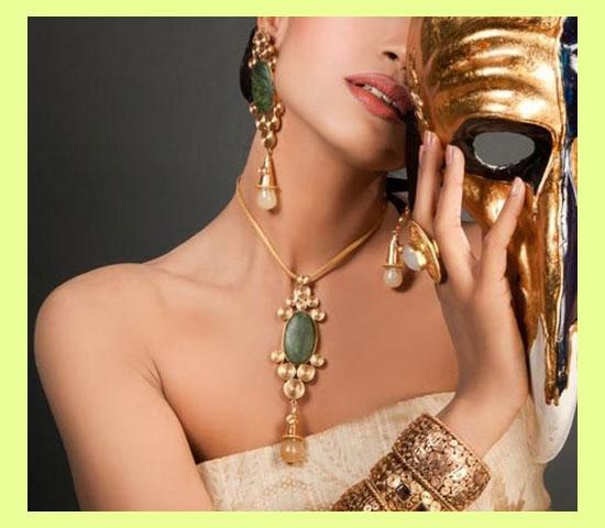 Бижутерия и украшения на женщине