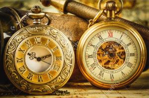 Ретро часы в подарок