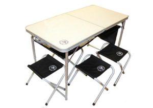 Складной стол со стульчиками в подарок