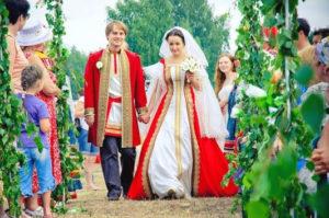 Народные традиции на свадьбе