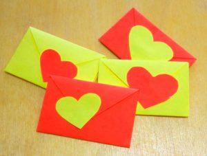 Валентинки, сделанные своими руками