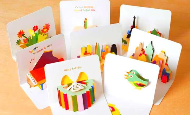 Объем в 3Д открытках
