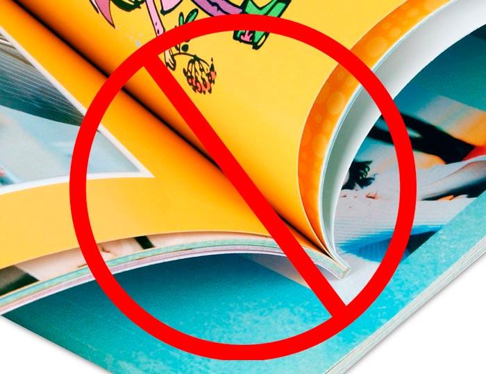 Не стоит дарить книги с тонкими листами