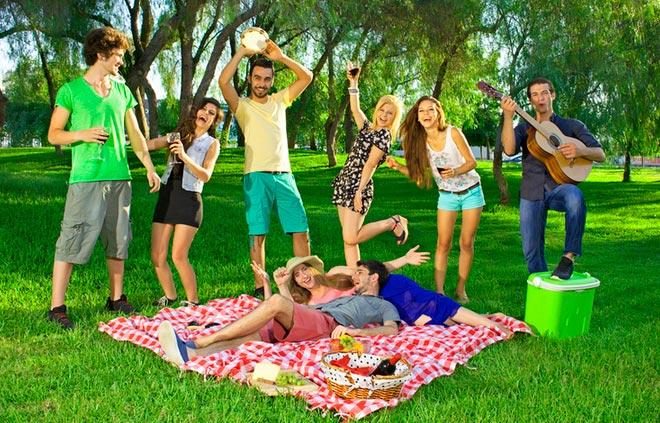 Пикник на свежем воздухе
