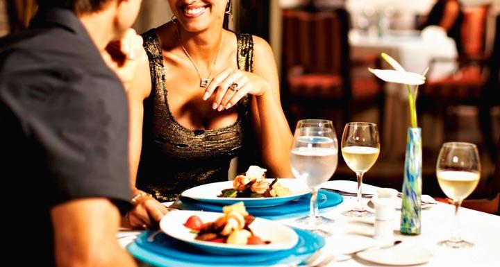 Романтический ужин в ресторане в подарок