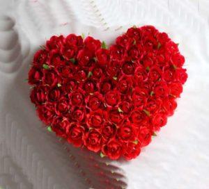 Объемная открытка из роз