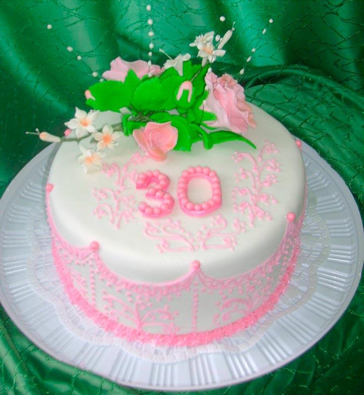 Торт в подарок на юбилей