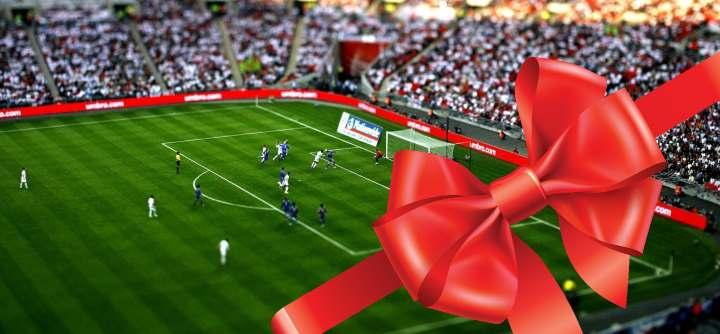 Футбол в подарок мужу