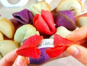 Разноцветные печеньки