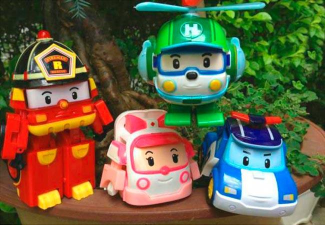 Робокары - персонажи любимого мультфильма