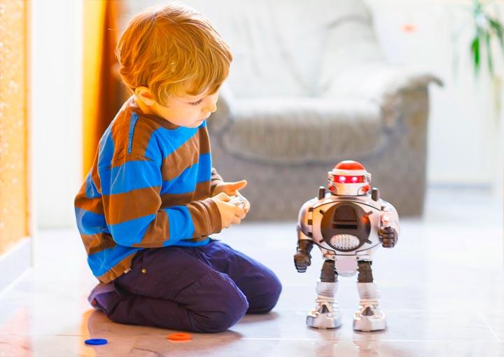 Робот в подарок мальчику 4 лет