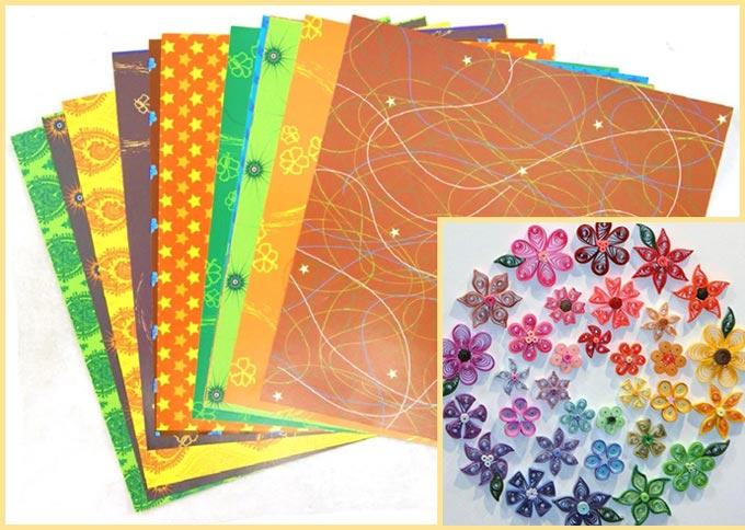 Бумага оригами и квилинг