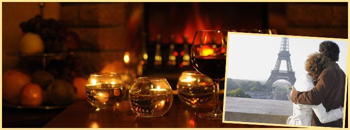 Романтический ужин и путешествие в Париж