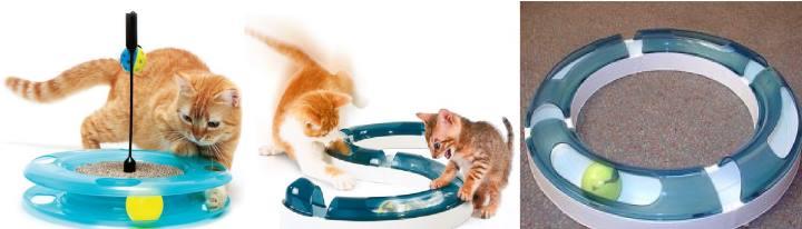 Игрушка с шариком внутри для кота