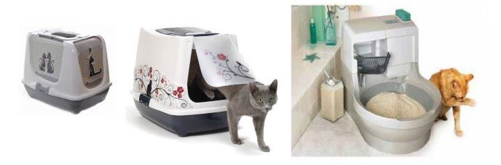 Домашние туалеты для кота