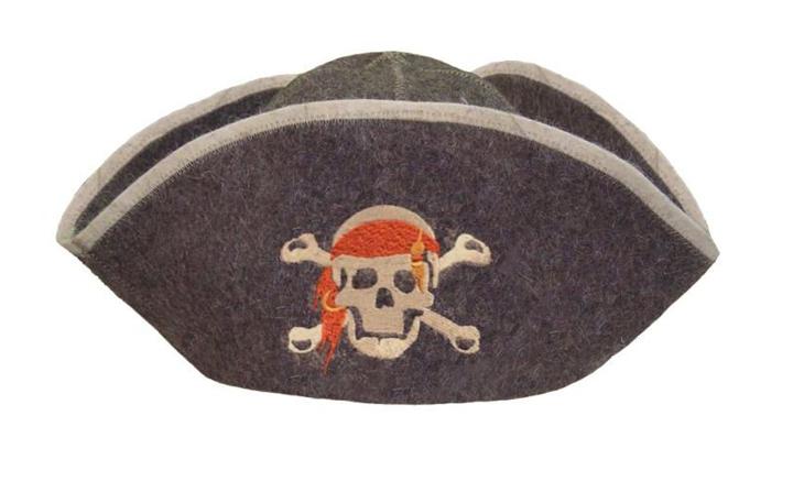 Банная шапка «Пират»