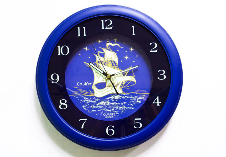 Звуковые часы на стену «Звуки моря»