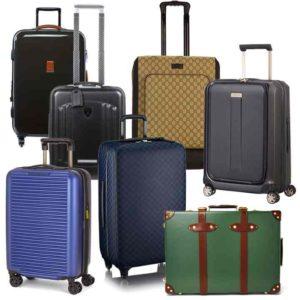 Варианты чемоданов на колесиках