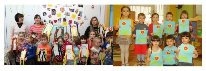 Праздничные фото из детского сада