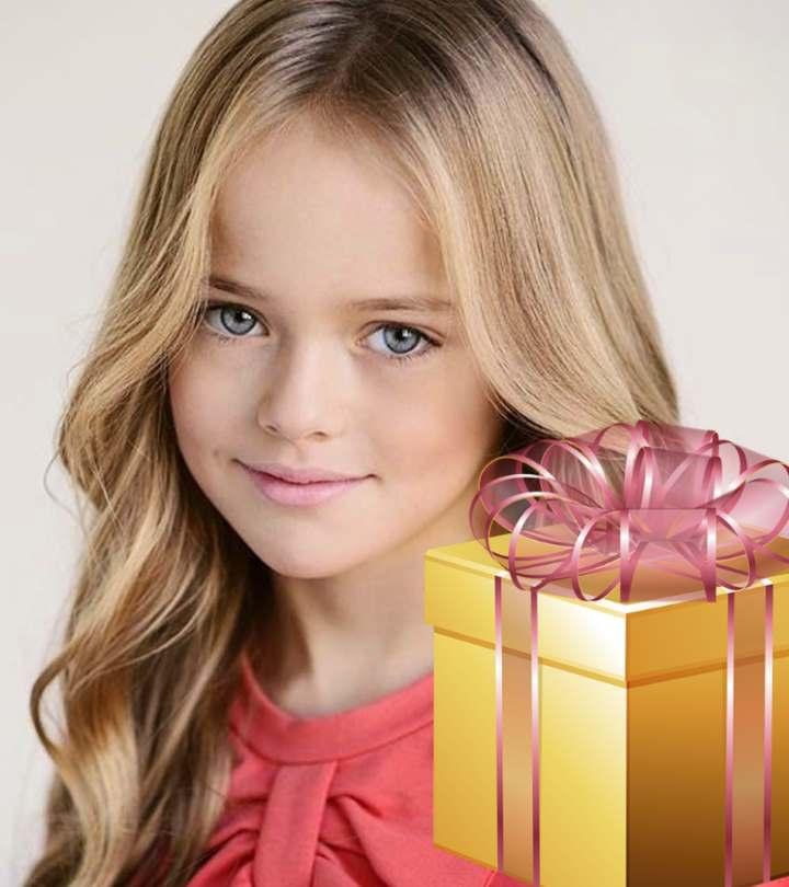 Красивая девчушка