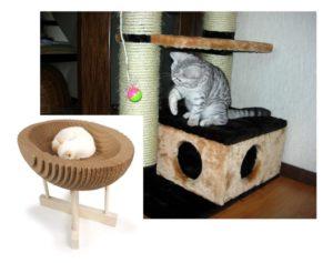 Различные домики для кошки
