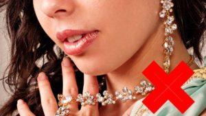 Колье и серьги с бриллиантами