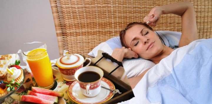 Завтрак в постель жене на 30 лет