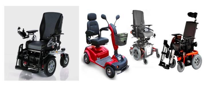 Варианты инвалидных колясок с электроприводом