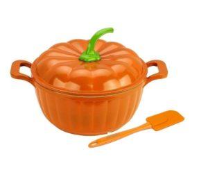 Оранжевая кастрюлька-тыква
