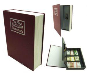 Вариант сейфа в книге