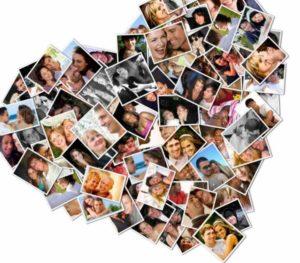 Фотоколлаж молодым