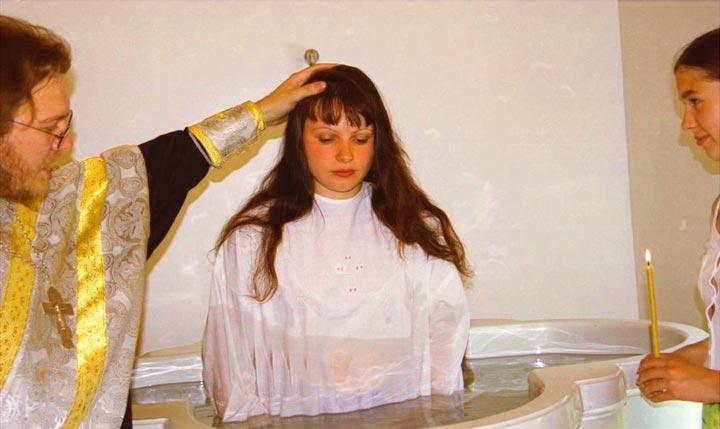 Крещение во взрослом возрасте