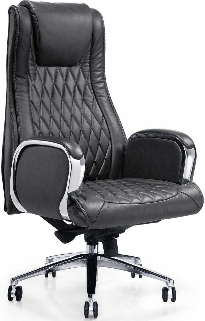 Компьютерное кресло из кожи