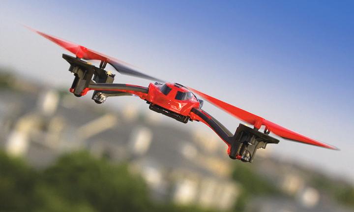 Квадрокоптер небольшой мощности