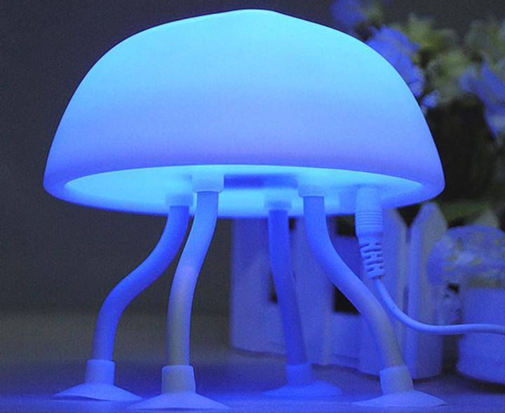Светодиодная лампа на стол «Медуза»