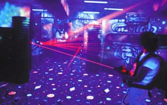 Игра лазерный пейнбол