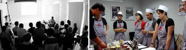 Мастер-классы по кулинарному и фото искусству