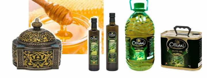 Подарки мусульманину - мед и масло