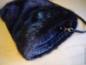 Норковая муфта для рук