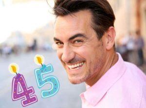 45 летие мужчины