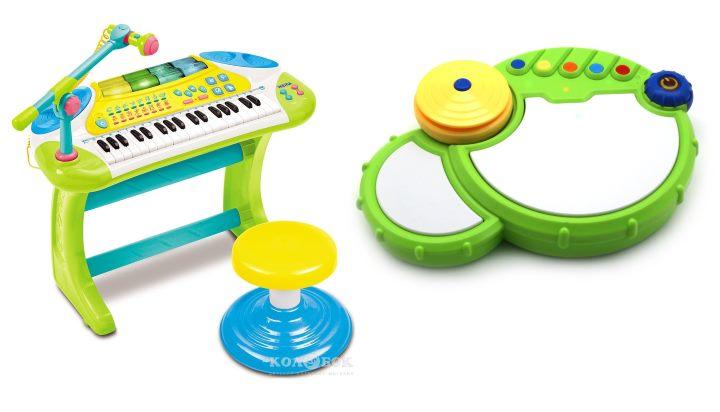 Музыкальный инструмент для трехлеток