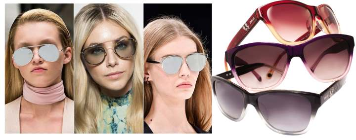 Девушки в темных очках