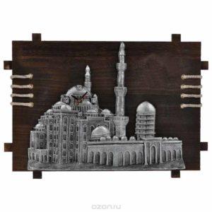 Панно-часы с мечетью