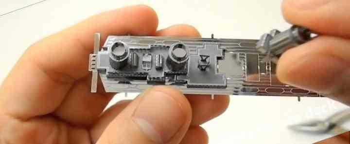 Металлический 3Д пазл