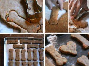 Печенье в виде косточек