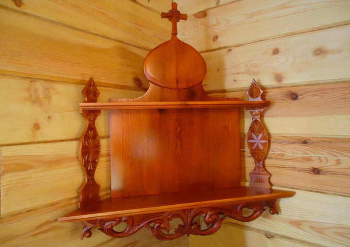 Подставка для икон взрослому в подарок на крестины