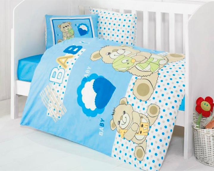 Комплект постельного белья на крестины в подарок