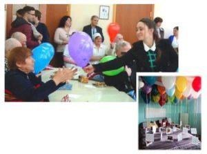 Организованный праздник инвалидам