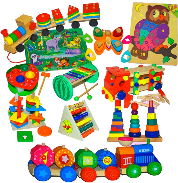 Развивающие игрушки в подарок дошкольному работнику